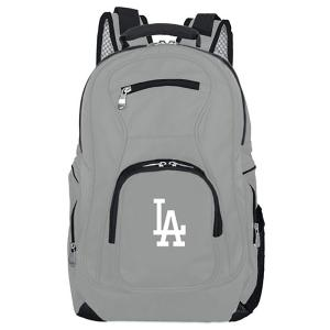 MLB Los Angeles Dodgers 19 in. Gray Laptop Backpack