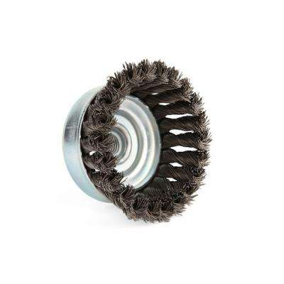 4 in. Single Row Knotted Cup Brush