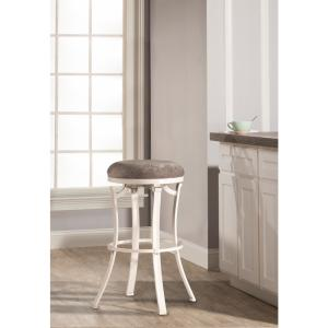 Tremendous Hillsdale Furniture Kelford White Swivel Backless Counter Gmtry Best Dining Table And Chair Ideas Images Gmtryco