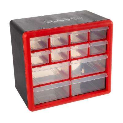 12-Compartment Small Parts Organizer