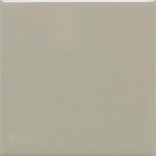 Matte Architectural Gray 4-1/4 in. x 4-1/4 in. Ceramic Wall Tile (12.5 sq. ft. / case)