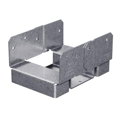 ABA ZMAX Galvanized Adjustable Standoff Post Base for 4x6 Rough Lumber