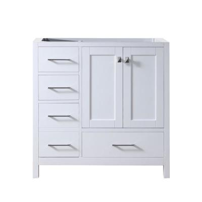 Caroline Madison 36 in. W Bath Vanity Cabinet Only in White