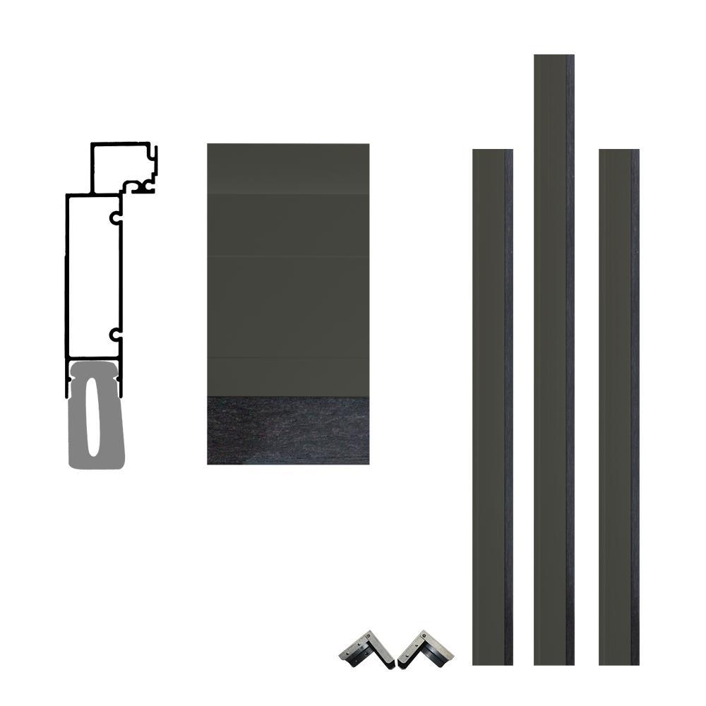 FrontLine Pro Series 5-1/2 in. x 96 in. x 84 in. Aluminum Clad ...