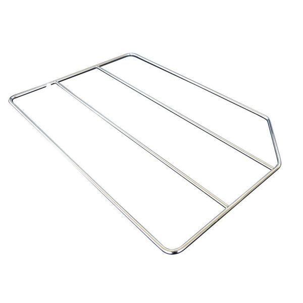 Home Decorators Collection 20x0.25x12 in. Tray Divider in Gloss Chrome TD12CR