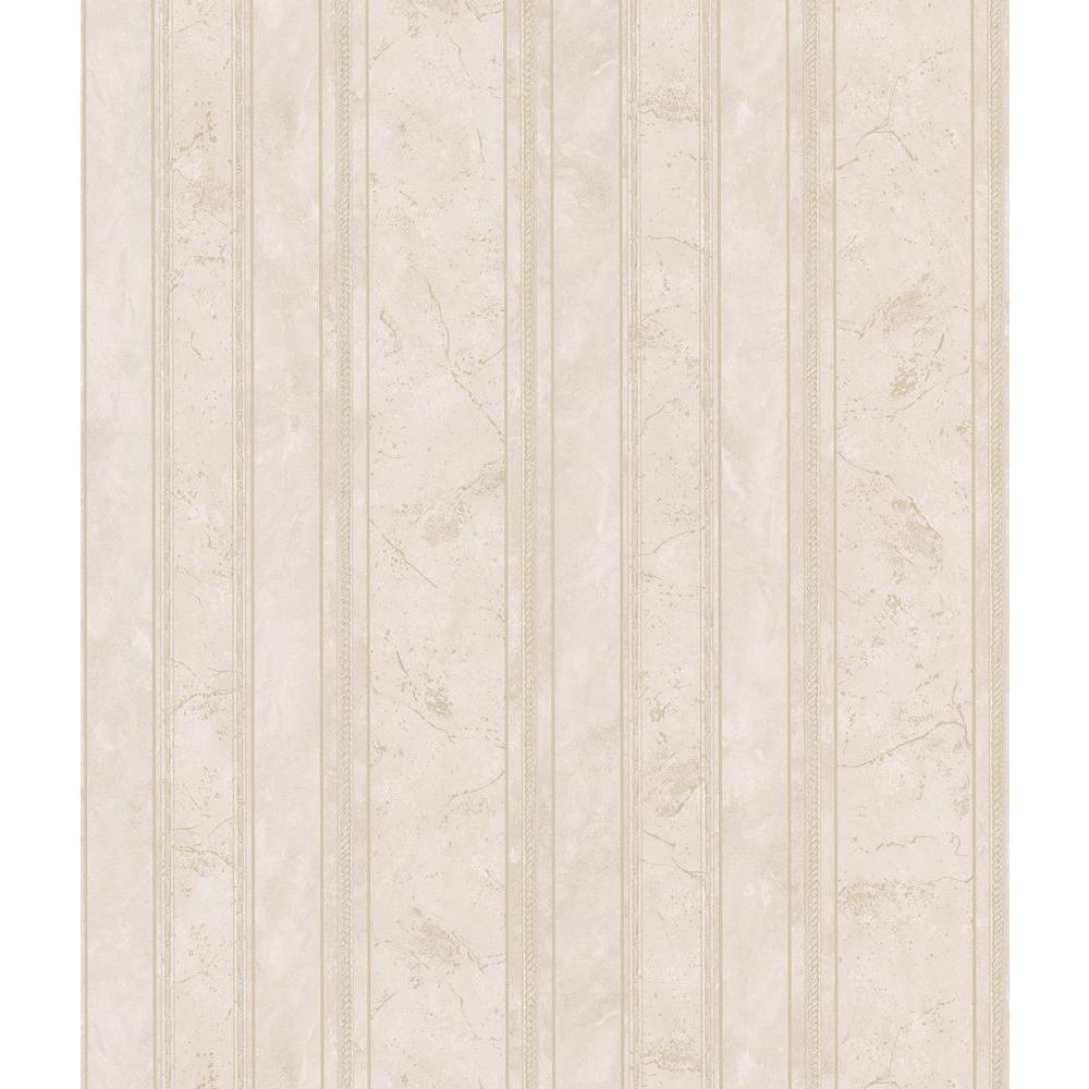 Brewster bath bath bath iii neutral marble stripe for Home depot bathroom wallpaper