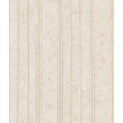 Marble Stripe Vinyl Peelable Wallpaper (Covers 56.38 sq. ft.)