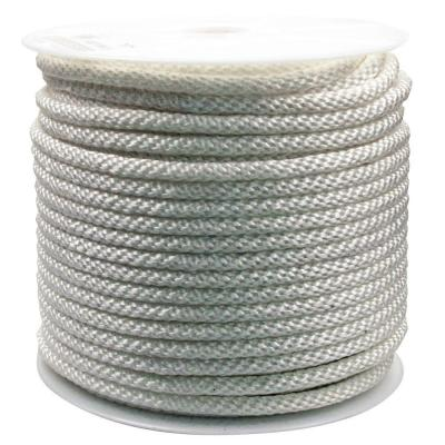 1/2 in. x 300 ft. Solid Braided Nylon Rope White