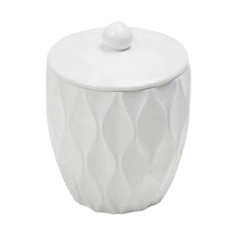 Filament Design Roselli Trading Company 5.2 in. Cotton Jar in White