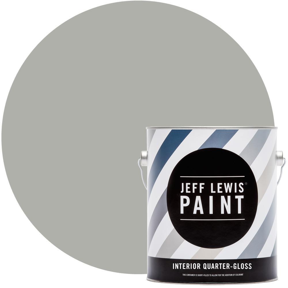 1 gal. #413 Dusk Quarter-Gloss Interior Paint