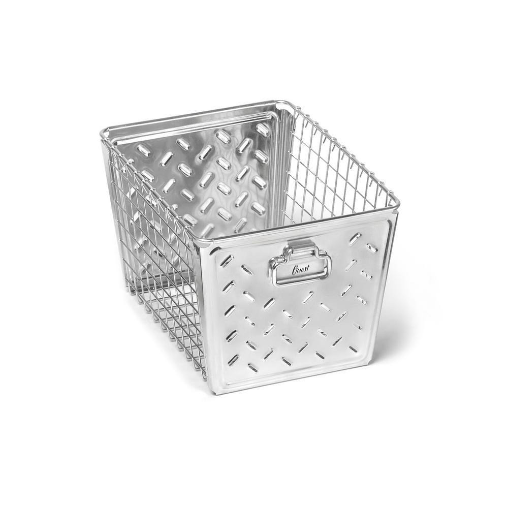 Macklin Medium Basket in Zinc Plated