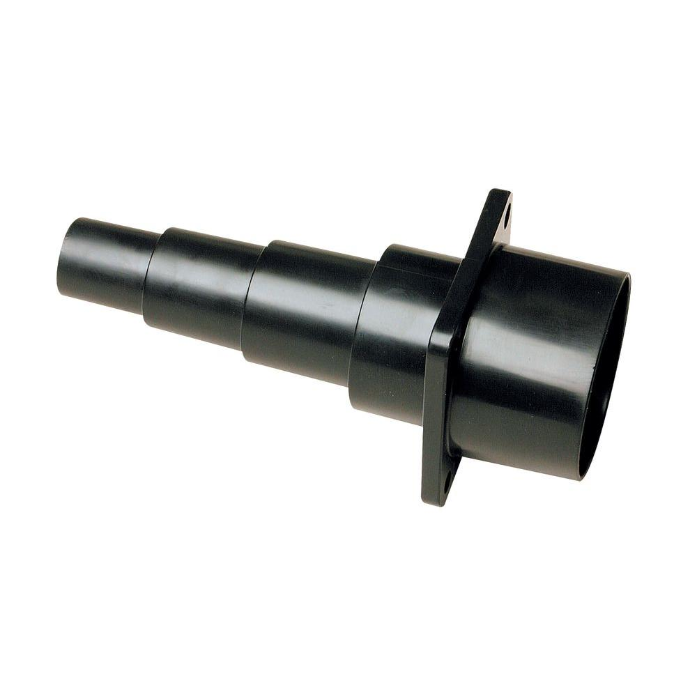 RIDGID 2-1/2 in. Power Tool Adapter Accessory for RIDGID Wet Dry Shop Vacuums