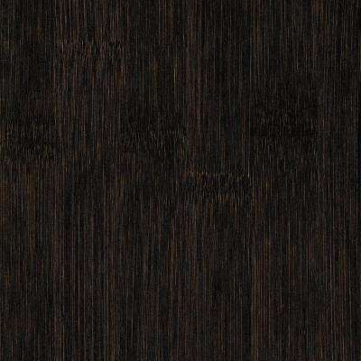 Take Home Sample - Horizontal Dark Truffle Solid Bamboo Flooring - 5 in. x 7 in.