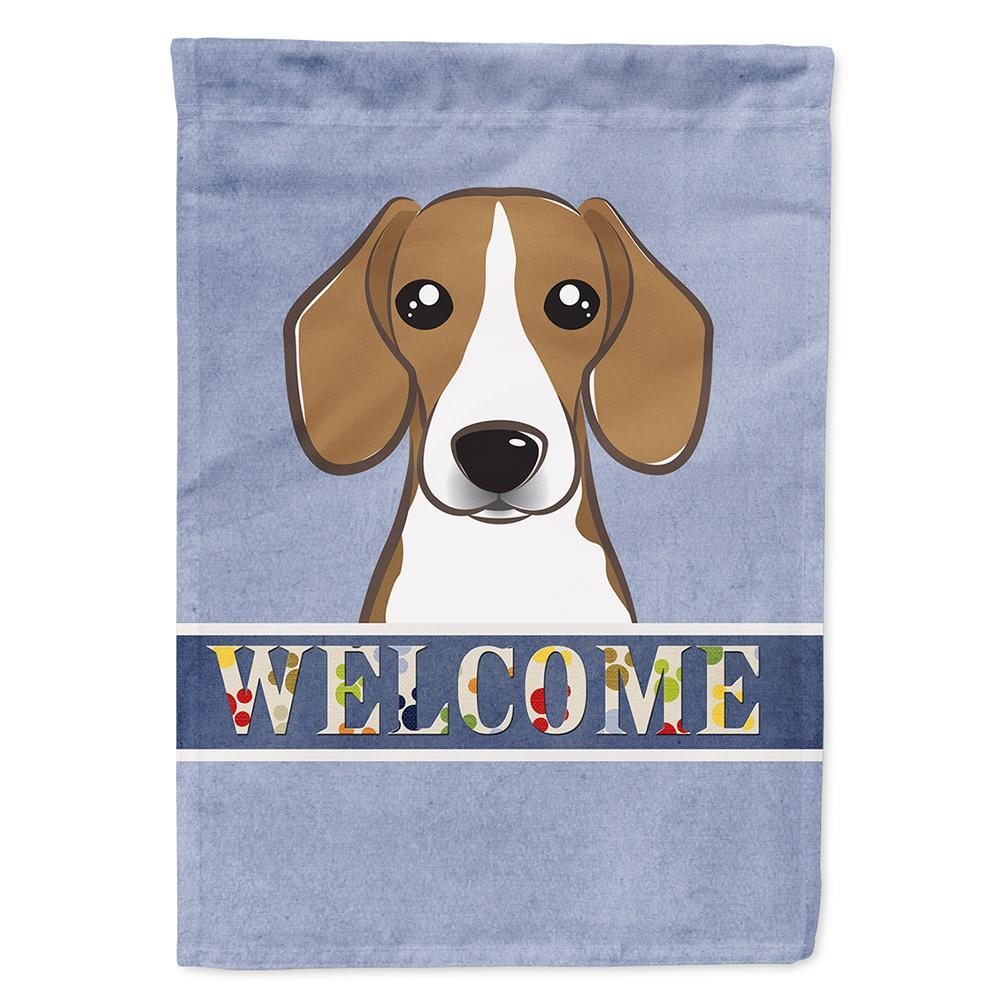 Charmant Carolineu0027s Treasures 11 In. X 15 1/2 In. Polyester Beagle Welcome