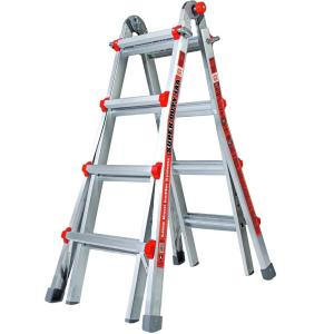 Little Giant Ladder Systems Super Duty 17 ft. Aluminum Multi-Position Ladder with 375 lb. Load Capacity Type... by Little Giant Ladder Systems