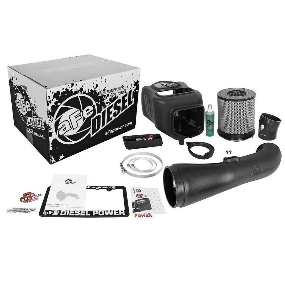 aFe POWER Diesel Elite Momentum HD Pro DRY S Cold Air Intake System for Dodge/RAM Diesel Trucks 10-12 L6-6.7L (td)