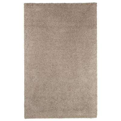 Shag Taupe 8 ft. x 10 ft. Indoor/Outdoor Area Rug