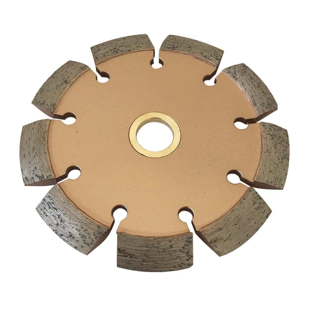 EDiamondTools 4.5 in. Crack Chaser Blade for Concrete and...