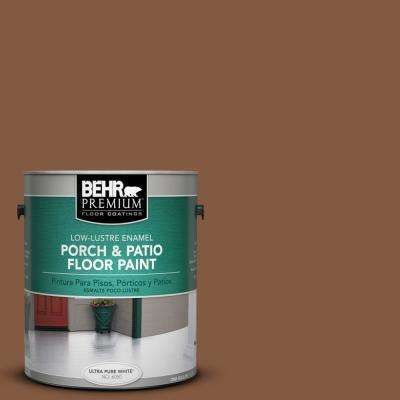 1 gal. #ICC-80 Cinnamon Spice Low-Lustre Porch and Patio Floor Paint