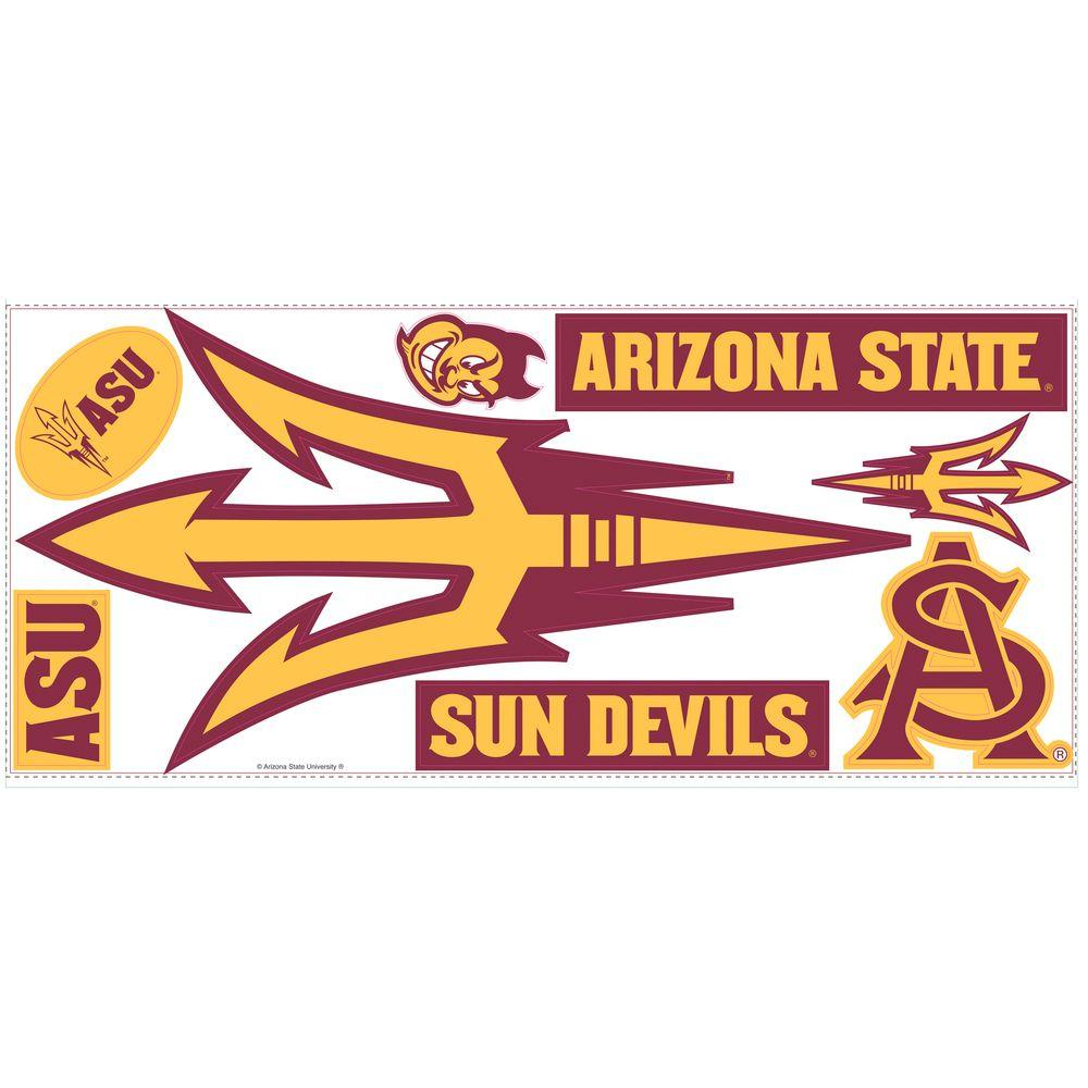 RoomMates Arizona State Unversity Giant Peel and Stick Wall Decals-DISCONTINUED