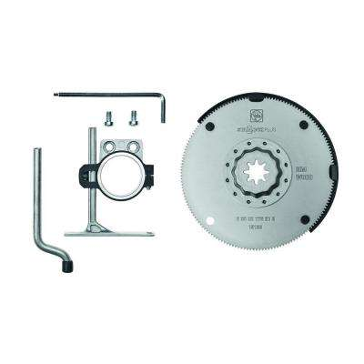 4 in. Oscillating Saw Blade with Depth Stop