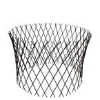 30 in. H x 60 in. W Circular Willow Lattice Trellis Fence