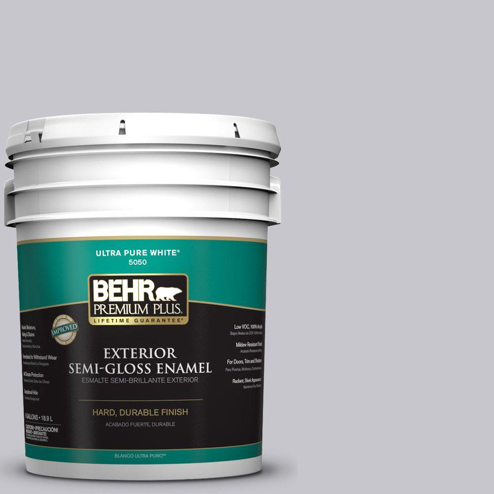 5-gal. #N550-2 Centre Stage Semi-Gloss Enamel Exterior Paint