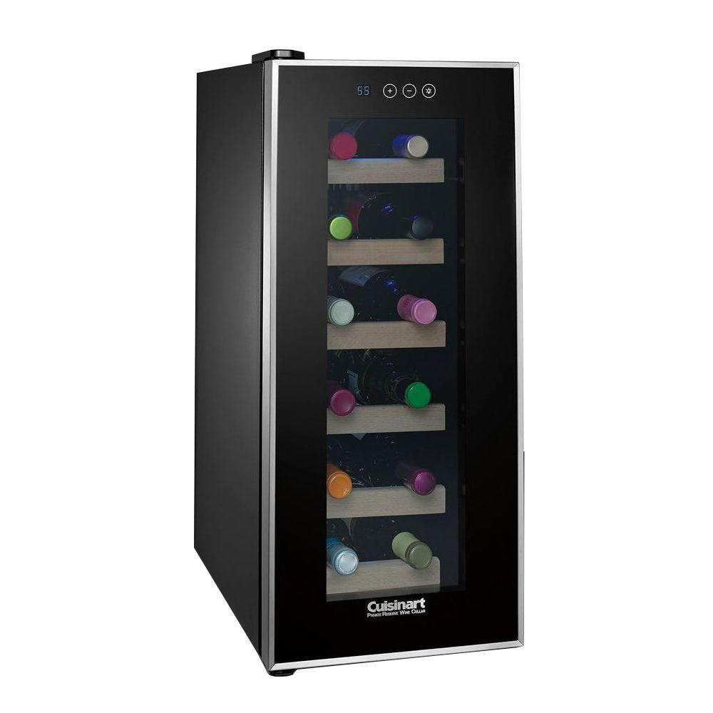 Cuisinart Private Reserve 12-Bottle Wine Cellar-CWC-1200TS