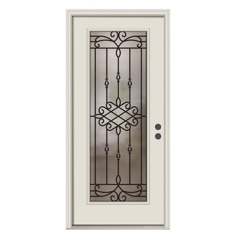 36 X 80 Steel Doors Front Doors The Home Depot