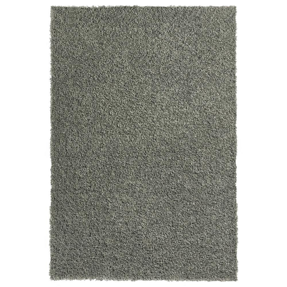 MAXY HOME Bella Collection Grey 7 ft. x 9 ft. Area Rug