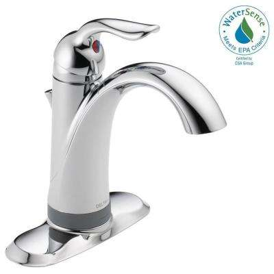 Lahara Single Hole Single-Handle Bathroom Faucet with Touch2O.xt Technology in Chrome