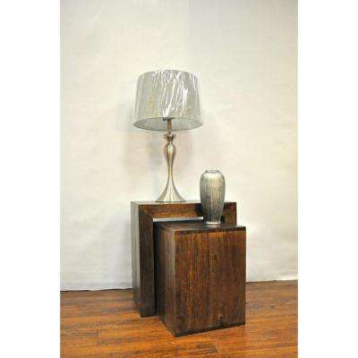 Revere Dark Brown Side Table
