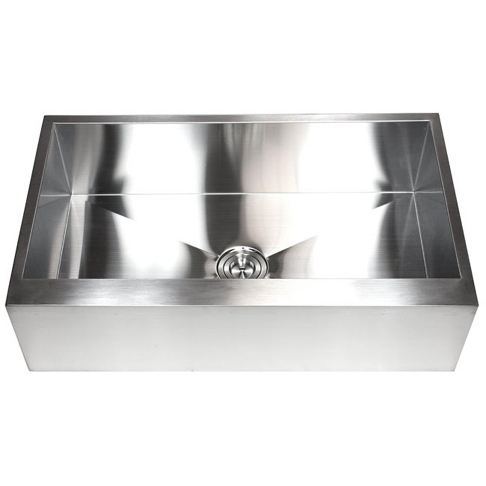 Superieur Kingsman Hardware Flat Farmhouse/Apron Front Stainless Steel 36 In. X 21 In