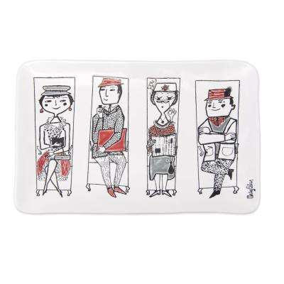 Mary Blair 1-Piece Commuters Ceramic Platter