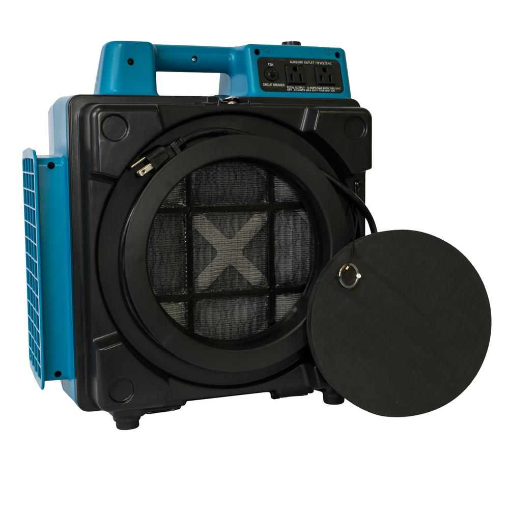 XPOWER 500 CFM Professional 3-Stage HEPA Mini Air Scrubber Purifier