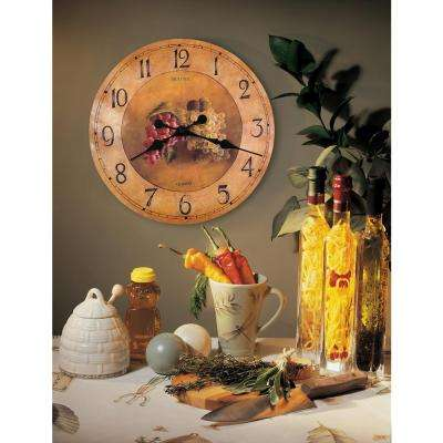 18 in. Laminated Dial Wall Clock