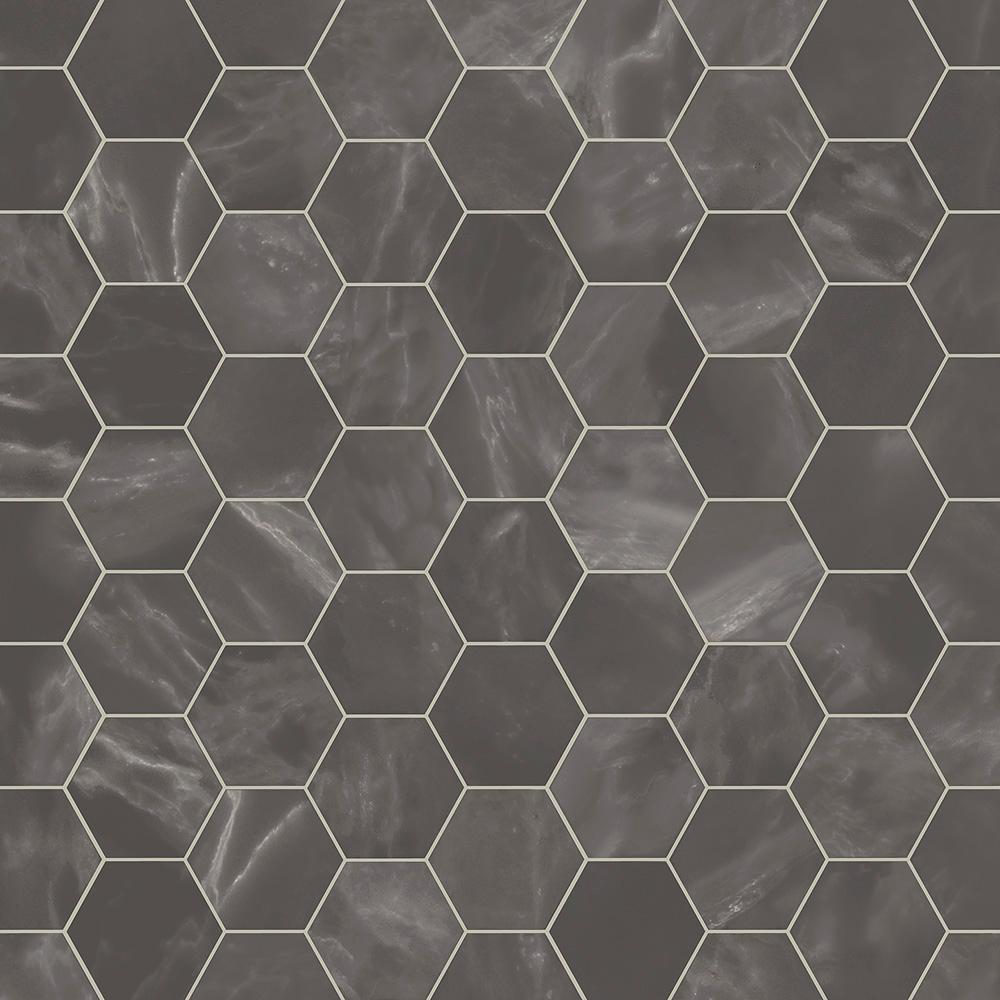 CushionStep Better with Diamond 10 Tech 12 ft. Width x Custom Length Marble Alabaster Residential Vinyl Sheet Flooring