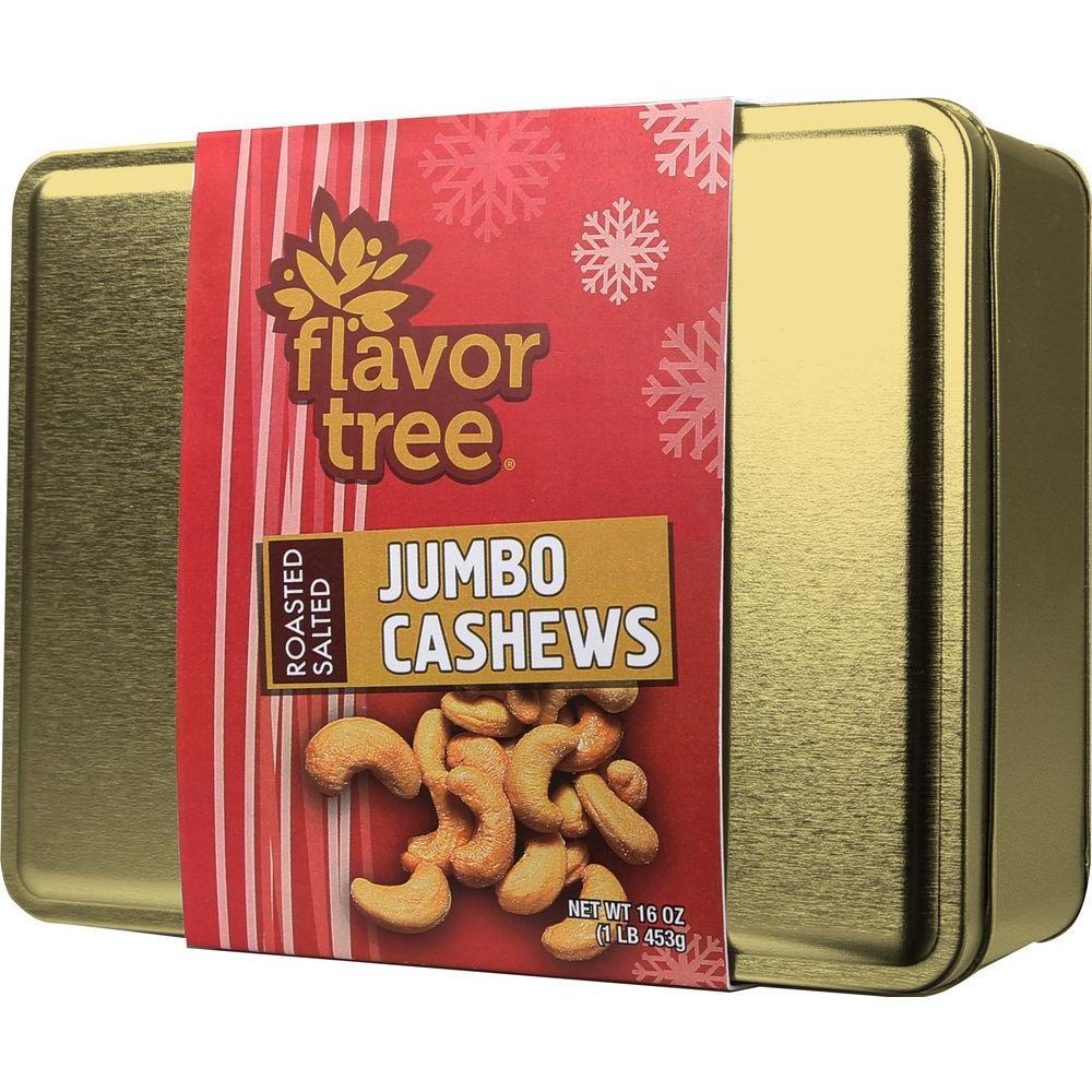 16 oz. Roasted & Salted Whole Cashews