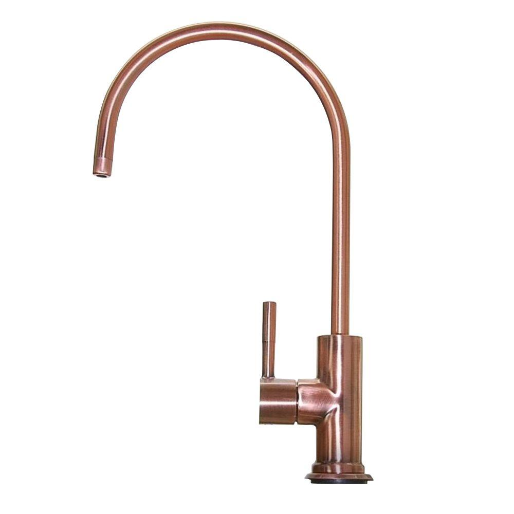 ISPRING European Designer Drinking Water Faucet in Antique Brass-GA1 ...