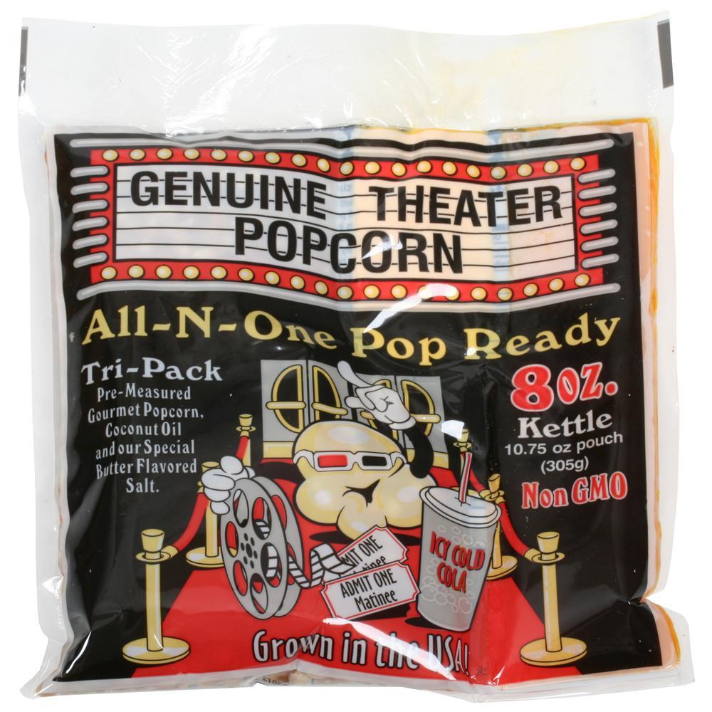 8 oz. Gourmet Movie Theater Style Popcorn (24-Pack)