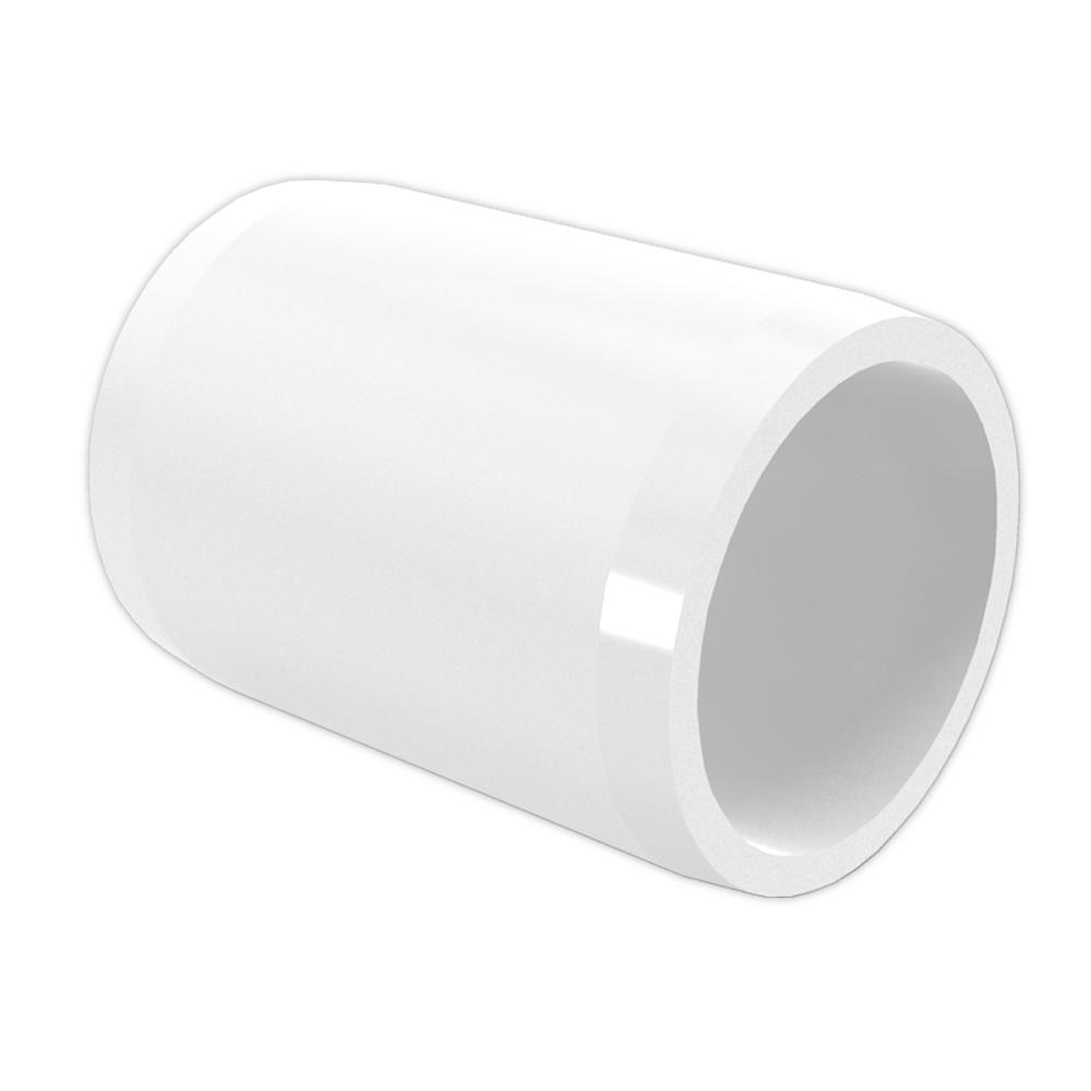 Formufit 1 1 2 in furniture grade pvc external coupling for 2 furniture grade pvc