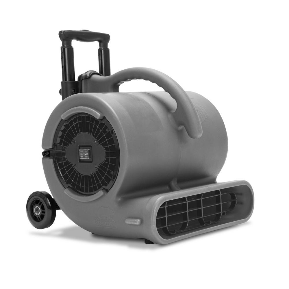 B Air 1 2 Hp Air Mover For Janitorial Water Damage