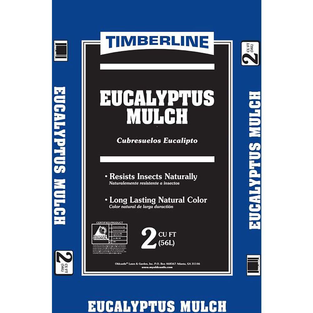 Timberline 2 cu. ft. Eucalyptus Mulch