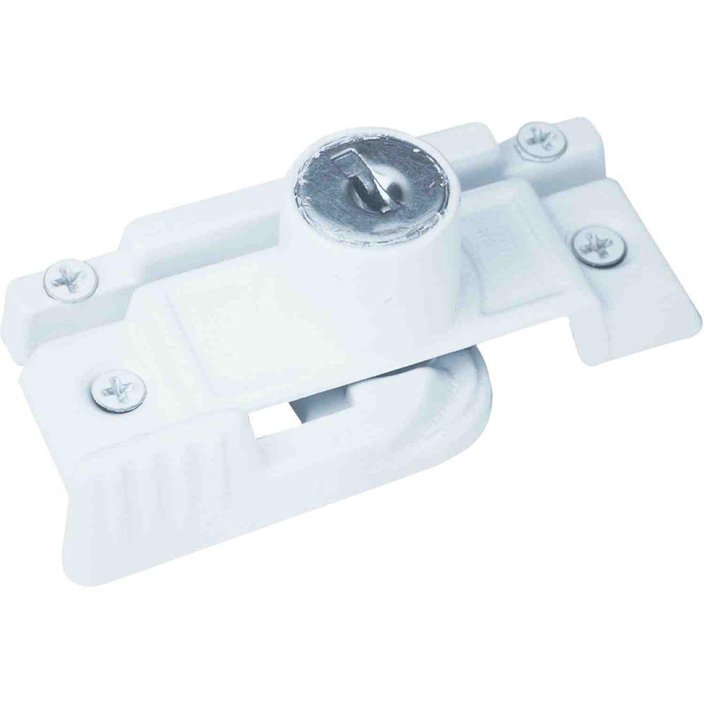Keyed Slim-Line Window Sash Lock