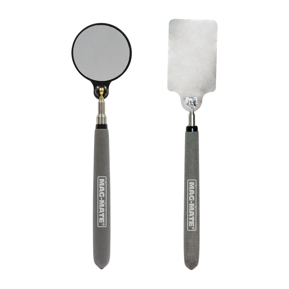MAG-MATE 2-Piece Inspection Mirror Stainless Steel Kit