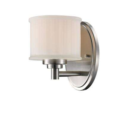 Cahill 1-Light Brushed Nickel Sconce