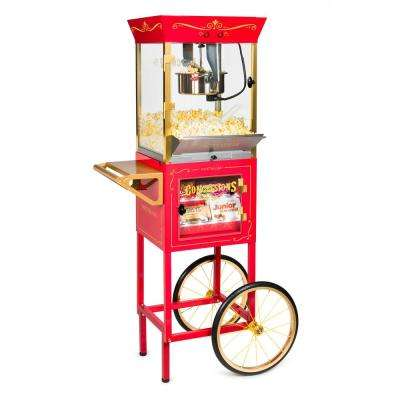 8 oz. Popcorn Machine and Concession Cart