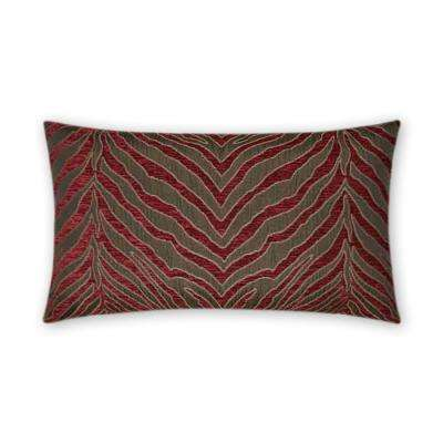 Pumba Feather Down 14 in. x 24 in. Standard Decorative Throw Pillow