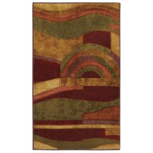 Mohawk Home Picasso Wine 1 ft. 8 inch x 2 ft. 10 inch Accent Rug by Mohawk Home