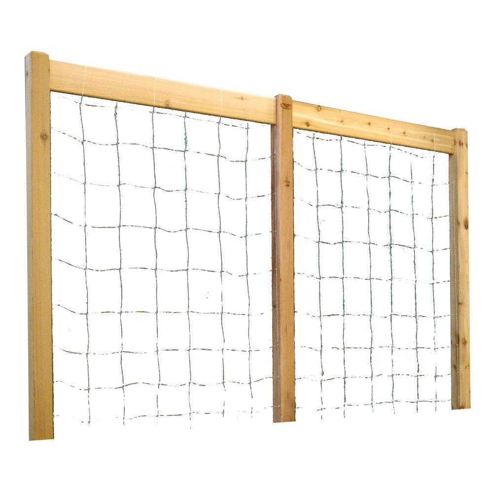 95 in. W x 80 in. H Raised Garden Bed Trellis